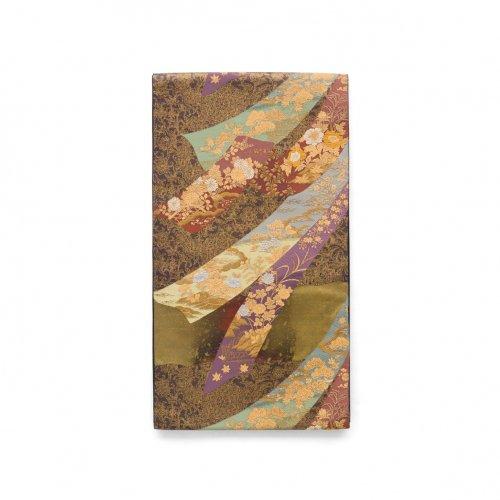 袋帯●熨斗に花のサムネイル画像