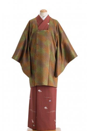 道行コート 色とりどりのドット絞りのサムネイル画像