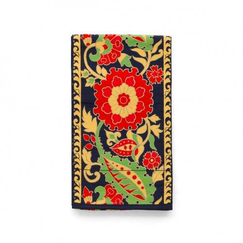 袋帯●赤い大きな花のサムネイル画像