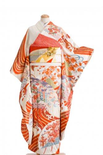 振袖 花咲く檜扇のサムネイル画像