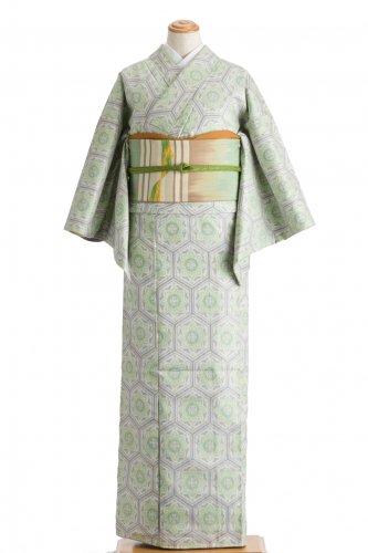 紬 亀甲に華紋のサムネイル画像