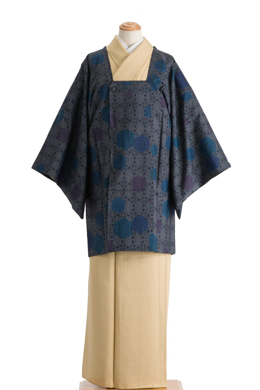 「大島紬 道行コート」の商品画像