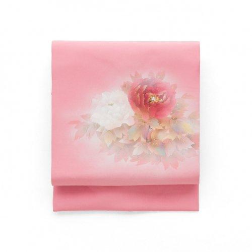白と赤の大輪牡丹のサムネイル画像