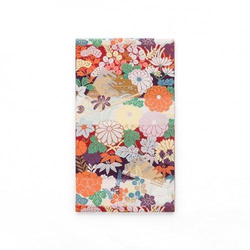 袋帯●横段に菊 牡丹 萩などのサムネイル画像