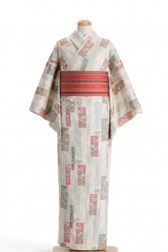 単衣 紬 菊の絵札のサムネイル画像