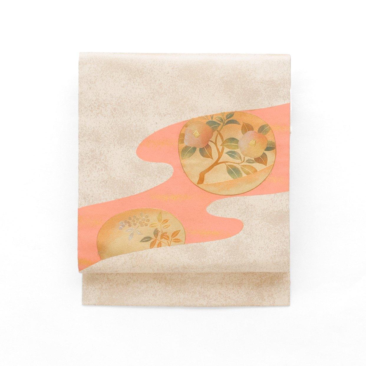 「霞に椿と南天」の商品画像