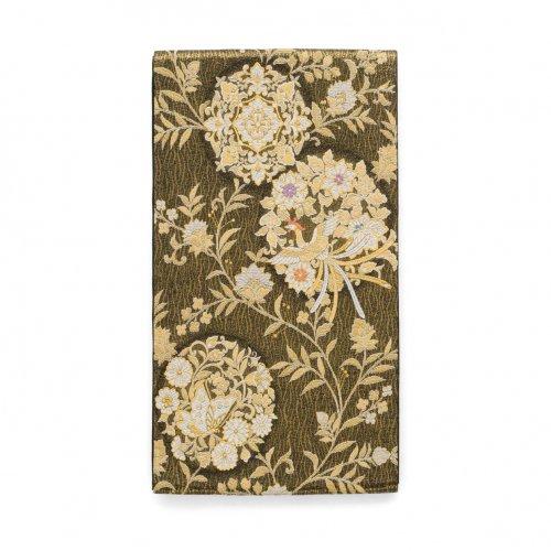 袋帯●鳳凰と揚羽に花丸