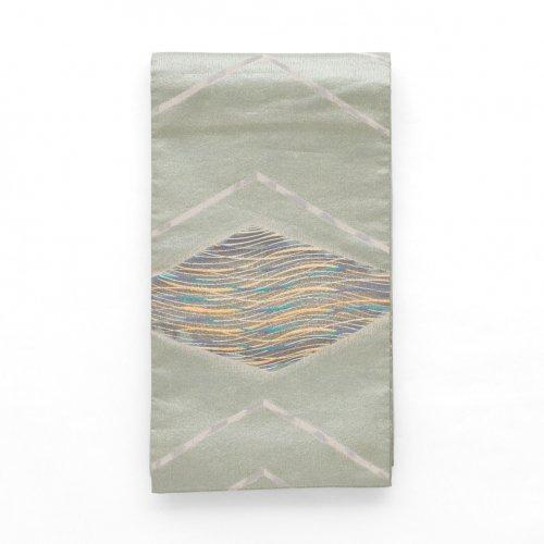 袋帯●大きな菱と流線