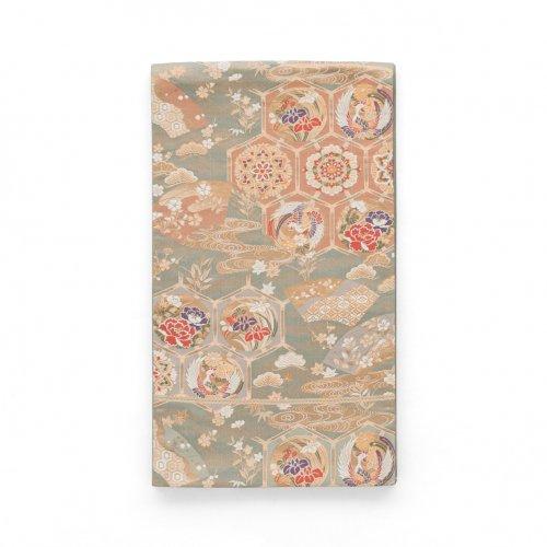 袋帯●金亀甲に鶴や華紋のサムネイル画像