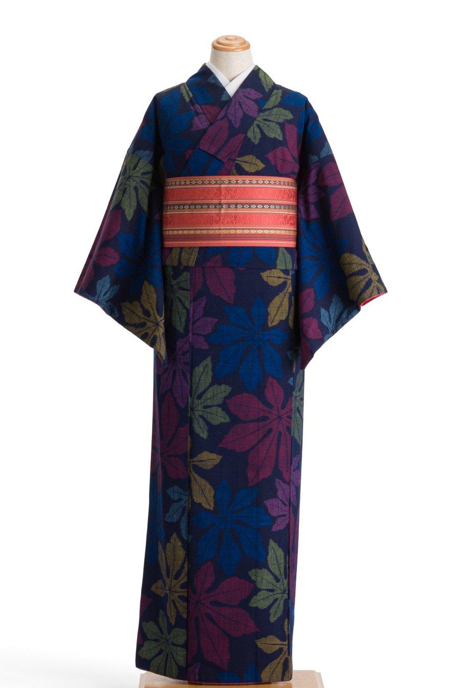 「紬 カラフルなヤツデ」の商品画像