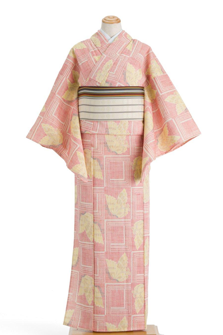「単衣 枠に蝶」の商品画像