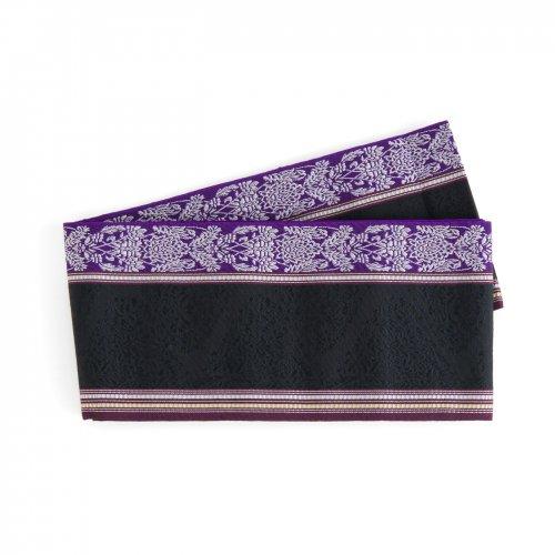 博多小袋帯 紋章風花模様のサムネイル画像