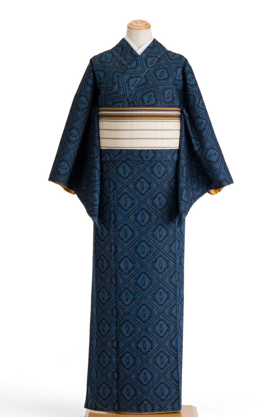 「紬 菱に鞘」の商品画像