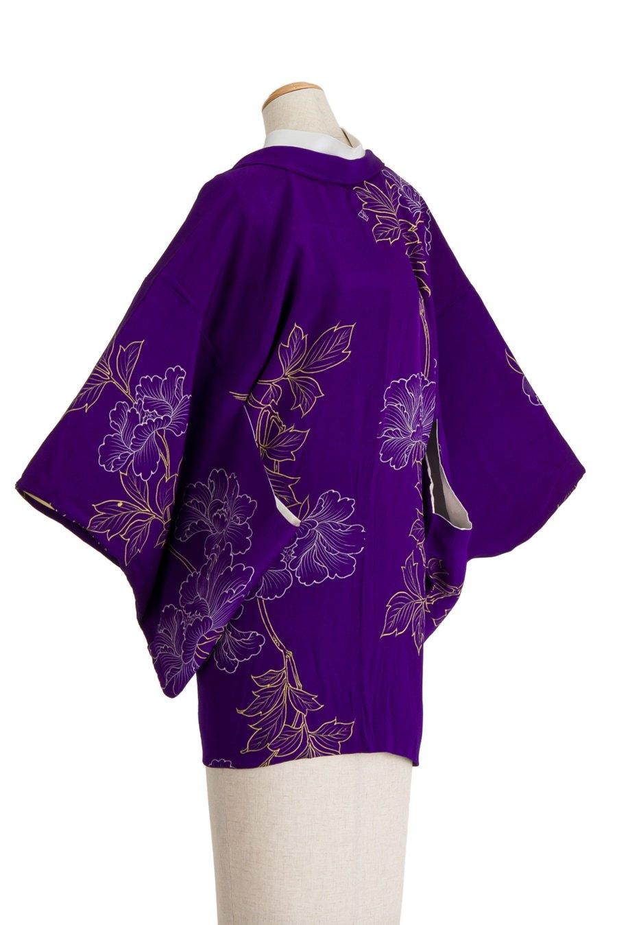 「アンティーク着物 繊細な牡丹の花」の商品画像