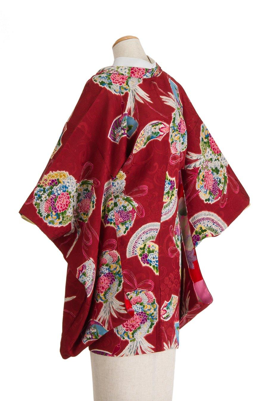 「アンティーク着物 羽織 花薬玉」の商品画像