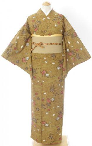 黄土色の地 青海波や梅、桜、楓などのサムネイル画像