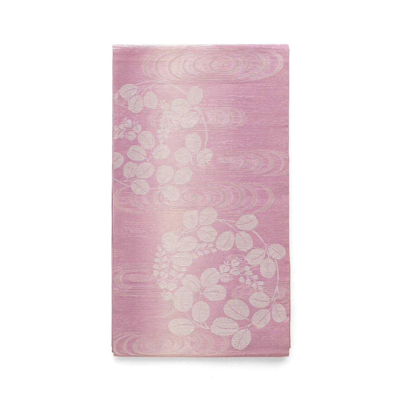 「夏袋帯●薄紫の地 流水と萩」の商品画像
