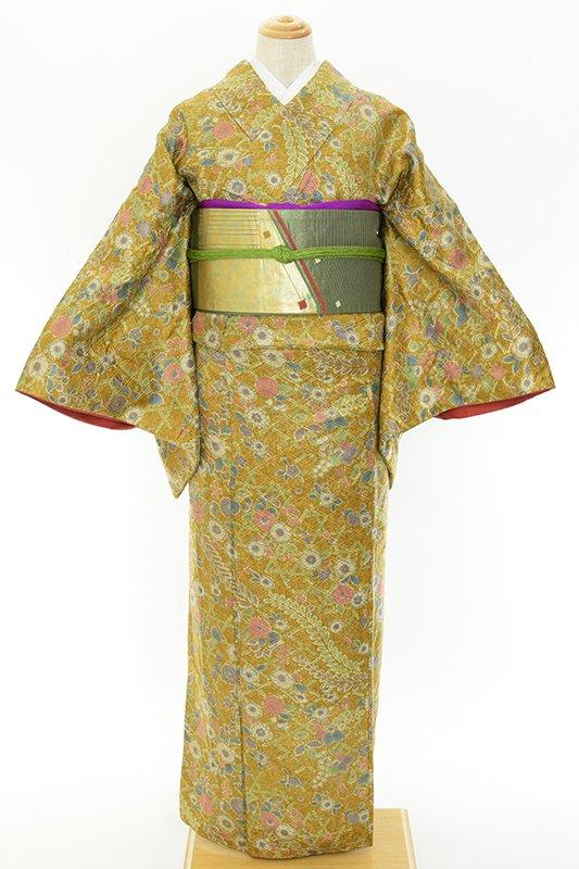 「金狐色地 辻が花」の商品画像