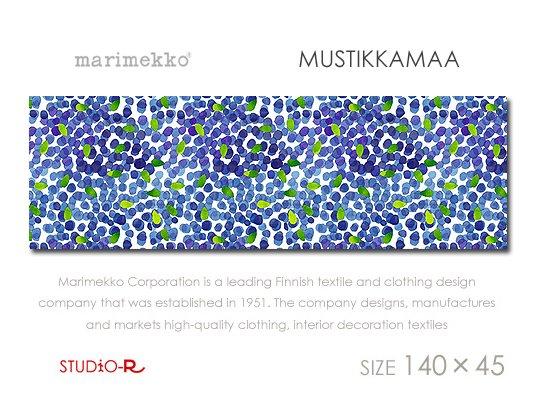 MUSTIKKAMAAMarimekko/マリメッコファブリックパネルファブリックボード