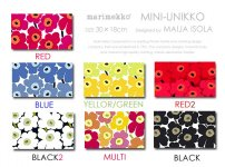 【全12色】MINI-UNIKKO/ミニウニッコ限定サイズ!Marimekko/マリメッコファブリックパネルファブリックボード