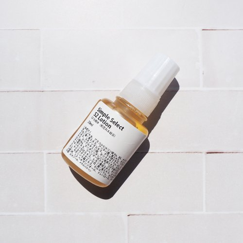 シンプルセレクトS2化粧水 /毛穴のことを考えた配合成分です(サンプル・20ml)
