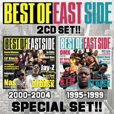 【EASTSIDE HIP HOPベスト2枚組!!!】DJ DASK / THE BEST OF EASTSIDE Vol.1&2 2CD SET[DKESET-01]
