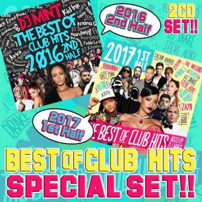 【'16年下半期&'17年上半期Hits Set!】DJ Mint / THE BEST OF CLUB HITS 2016 2nd & 2017 1st Half 2CD S…