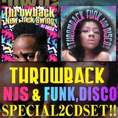 【NJSベスト+Funk & Discoベストのスペシャルセット2枚組!!】DJ DASK / Throwback NJS+Funk & Disco 2CD SET [DKTSET-0…
