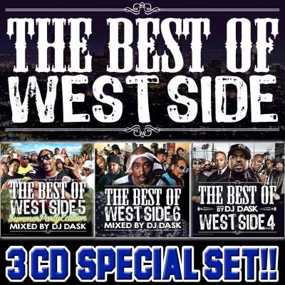 【超大人気ウエッサイクラシックスVol.4~6 3枚組!!】DJ DASK / THE BEST OF WESTSIDE Vol.4~6 3CD SET[DKWSET-0…