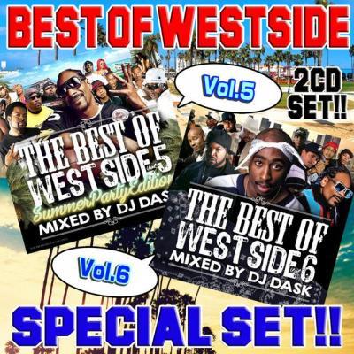 【超大人気ウエッサイクラシックスVol.5&6 2枚組!!】DJ DASK / THE BEST OF WESTSIDE Vol.5&6 2CD SET[DKWSET-0…