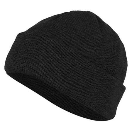 ニット帽 N / W (ブラック)