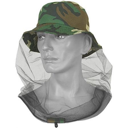 【SPLAV】防虫ネットパナマ帽(迷彩柄)