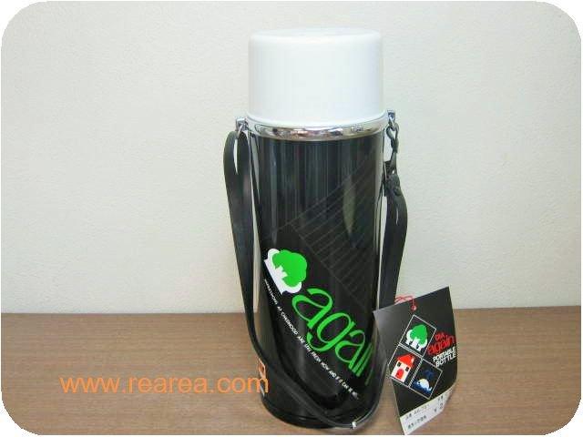 DIA 水筒 again ブラック 0.75L 保冷ポット(AA-751 ダイヤ魔法瓶*昭和レトロ雑貨