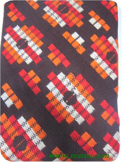 完売■ 菱形柄チェック こたつカバー ♯498 西川のこたつ上掛け (コタツ上掛〓昭和レトロデザイン