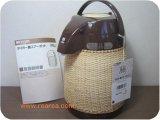 完売■ 天然籐編み タイガーPNJ-2200 籐エアーポット2.2L  y(保温魔法瓶*昭和レトロ雑貨キッチン