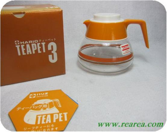 完売■ロジエ HARIOハリオ 耐熱ガラス ティーバック用ティーペット 3カップ(ティーポットサーバー〓