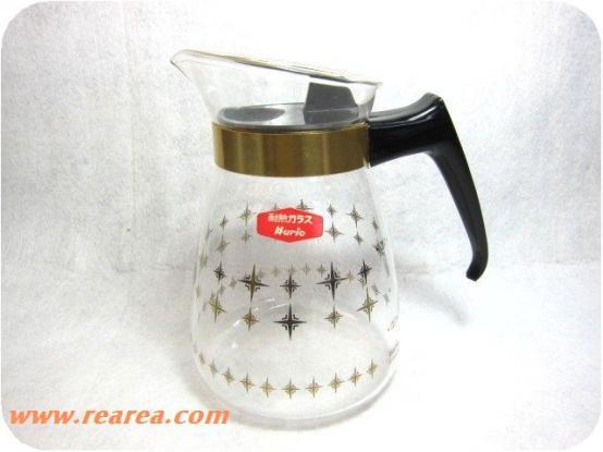 完売■ハリオ Robin  ティーポット  耐熱ガラス サーバー 5杯用 *昭和レトロ雑貨