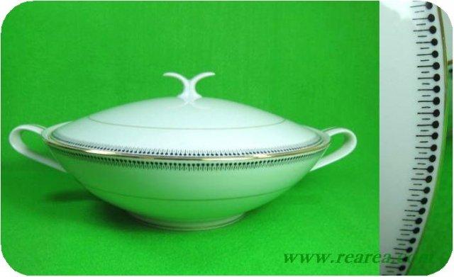 ノリタケ 日本陶器 ドットライン スープポット 2370 (〓昭和レトロ雑貨