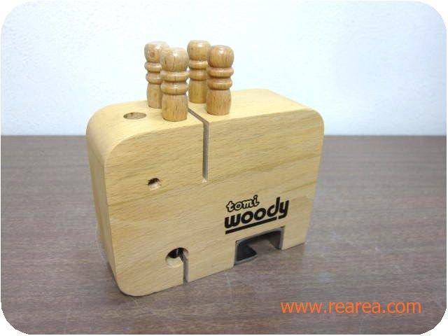 セール30%OFF tomi 木製ピックセットwoody pet  フルーツフォーク4本 (象かわいいゾウ*昭和レトロ雑貨