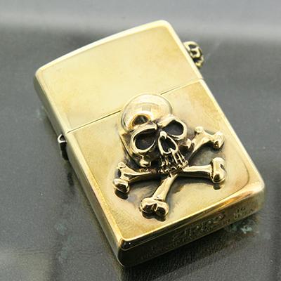 真鍮×真鍮ゴルゴレッドボーンズ(クラスプなし)