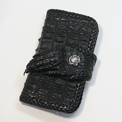iphone7  ケースクロコダイルハンド手帳...