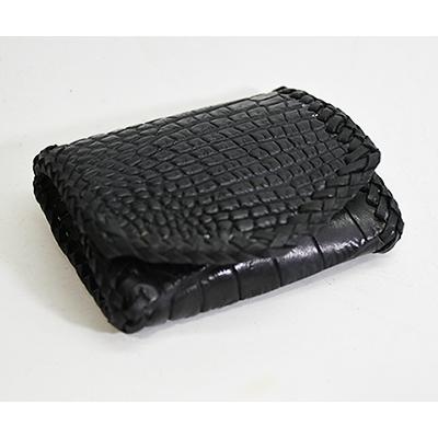 コインケース ブラッククロコダイル18599