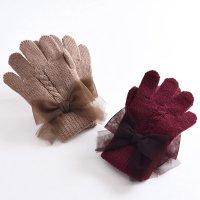 【50%OFF!】チュールリボン手袋(2823307)/S・M