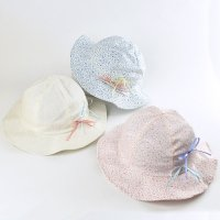 【NEW ARRIVAL】コットン花柄ハット(2013006)/50-54cm