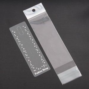 ストラップ台紙セット (台紙・PP袋)100式 オリジナルストラップのパッケージに!