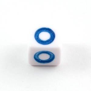 アルファベットビーズ 1個 「O」