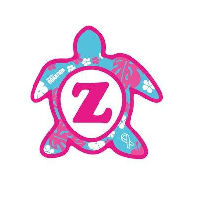 ホヌ型リボンマグネット(S-size) アルファベットモデル Z