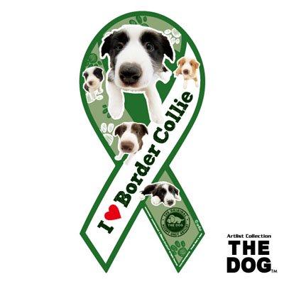 リボンマグネット THE DOG(ザ・ドッグ)ボーダーコリー