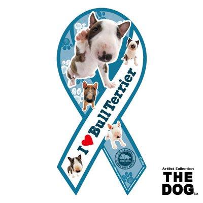 リボンマグネット THE DOG(ザ・ドッグ)ブルテリア