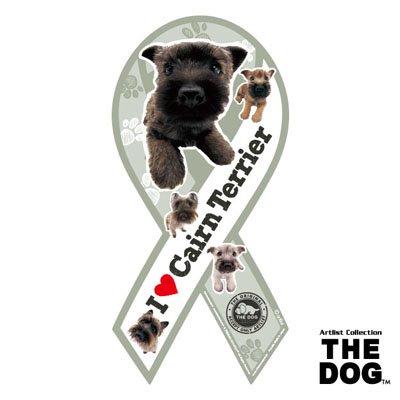 リボンマグネット THE DOG(ザ・ドッグ)ケアーンテリア